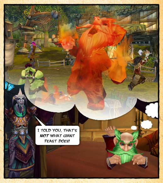 Comic Contest 2nd Prize Gnomeaggedon