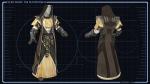 Jedi Consular robes concept art. (c) Bioware