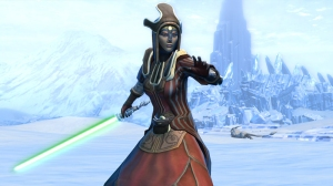 Jedi Consular screenshot. (c) Bioware