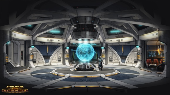 Concept Art for the starship Defender (c) Bioware