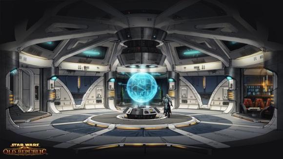 Concept Art for the starship Defender (c) Bioware