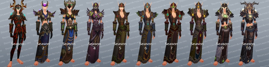 Druid Arena PvP Gear (c) Disciplinary Action
