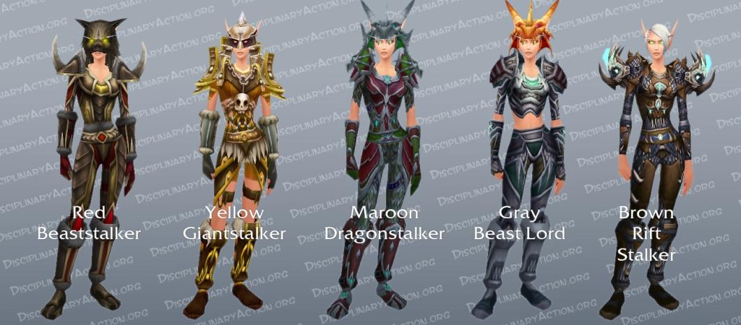 Hunter Lookalike Dungeon Set Transmogrification Gear