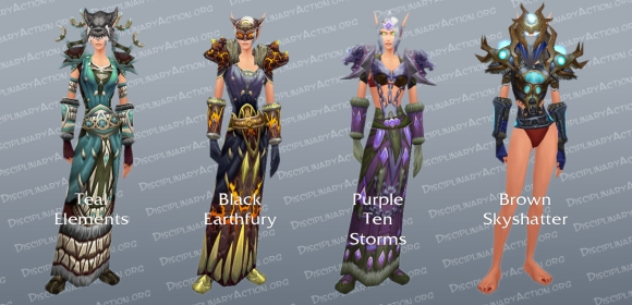 Shaman Lookalike Dungeon Set Transmogrification Gear