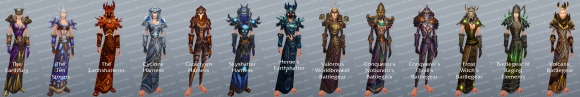 Shaman Tier Set Transmogrification Gear