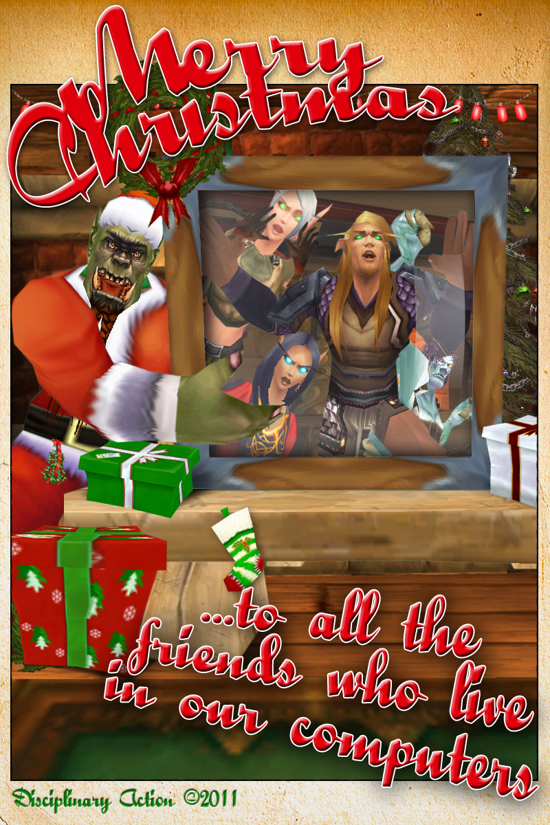 Merry Christmas from Disciplinary Action