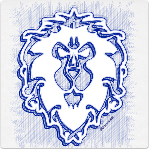 Ballpoint Icon: Alliance