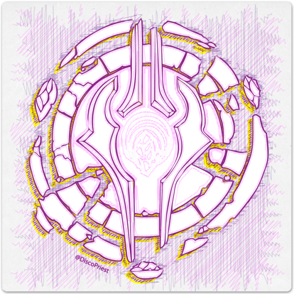 Warcraft Ballpoint Icon: Draenei