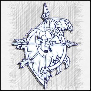 Warcraft Ballpoint Icon: Forsaken / Undead