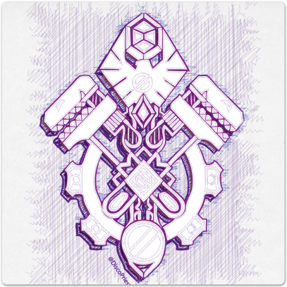 Warcraft Ballpoint Icon: Gnome