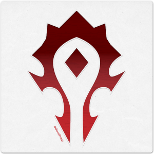 Wooden Icon: Horde