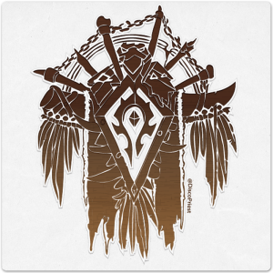 Wooden Icon: Tauren