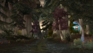 Warcraft: Darkshore Hurricane - Still from the Moving Wallpaper (c) Disciplinary Action