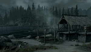 Skyrim: Old Mill - Still from the Moving Wallpaper (c) Disciplinary Action