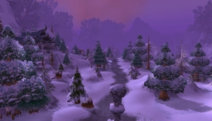 Warcraft: Starfall Village - Still from the Moving Wallpaper (c) Disciplinary Action