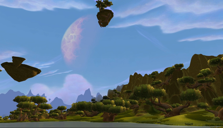 Moving Wallpaper: Nagrand, Daytime (c) Disciplinary Action