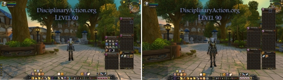 Disciplinary Action | Warcraft Guide Boost to 90 from 60: Changes to Bags