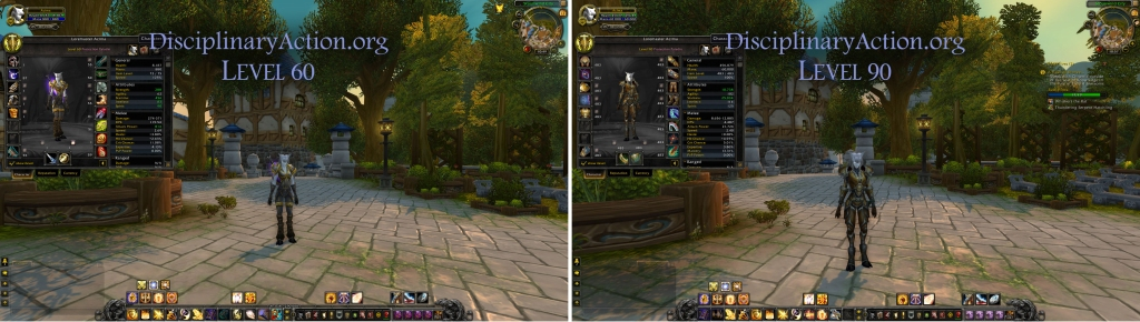 Disciplinary Action | Warcraft Guide Boost to 90 from 60: Changes to UI