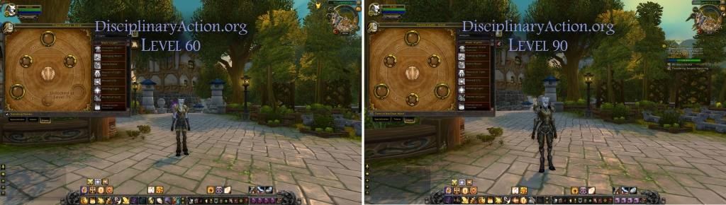 Disciplinary Action | Warcraft Guide Boost to 90 from 60: Changes to Glyphs