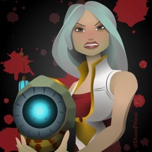 Wildstar - Cassian Female Avatar - ©DiscoPriest